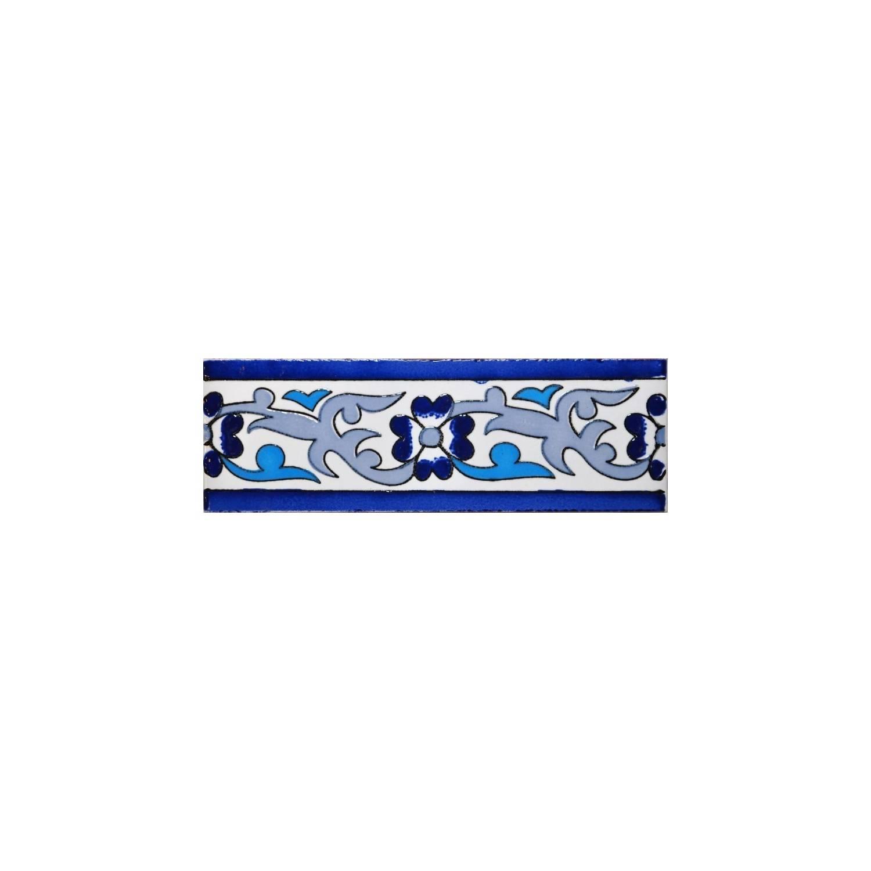 Cornice Sardegna  15x5 Cm Blu