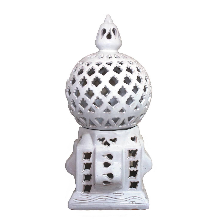 Lanterna Cagè Asoux Bianca (piccola)