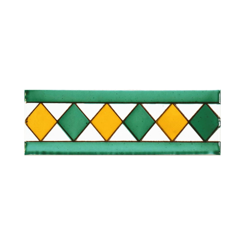 Greca Makroni 15x5 Cm Verde