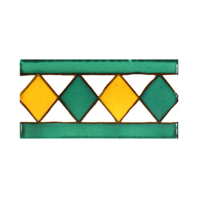 Greca Makroni 10x5 Cm Verde