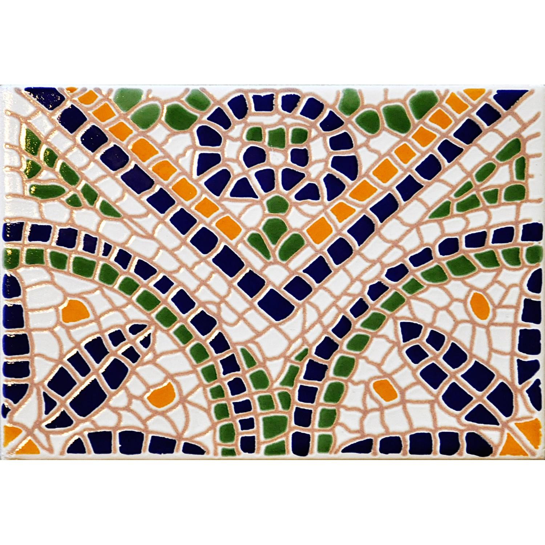 Mosaico Verde 20x15 cm