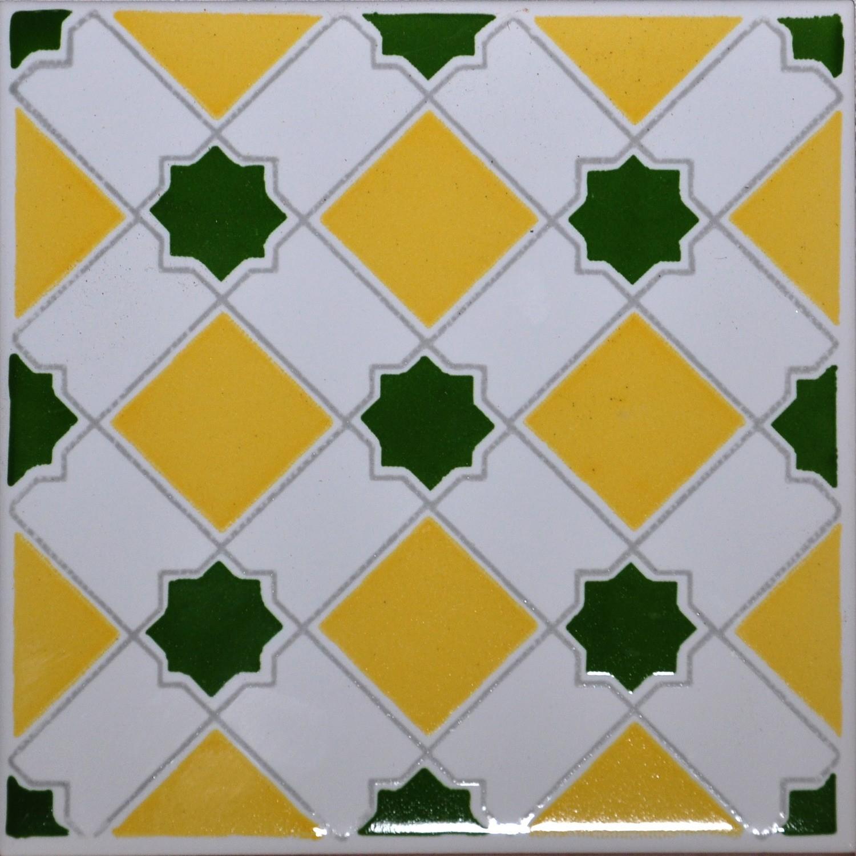 Marocco Giallo 15x15 Cm