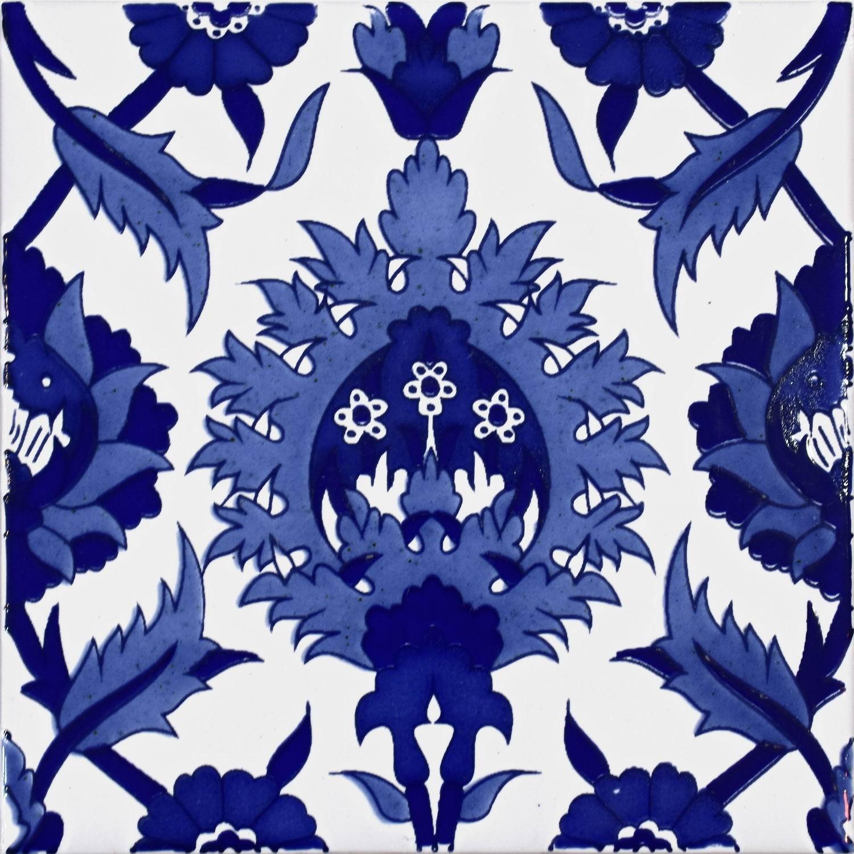 Palmi Blu 20x20 cm