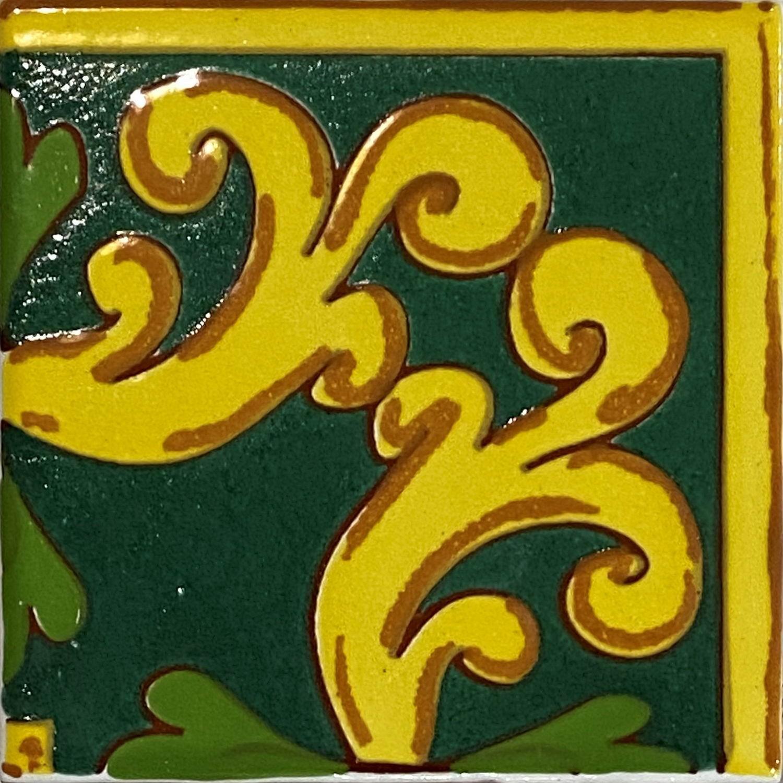 Angolo Cornice Sicilia Verde