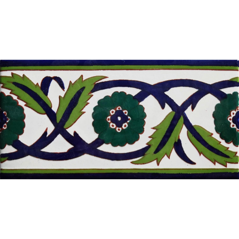 Cornice Palmyr verde