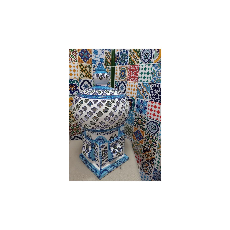 Lanterna Cagè Asoux Sidi bou said (grande)