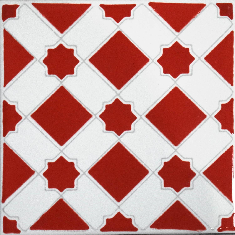 Marocco Rosso 15x15 Cm