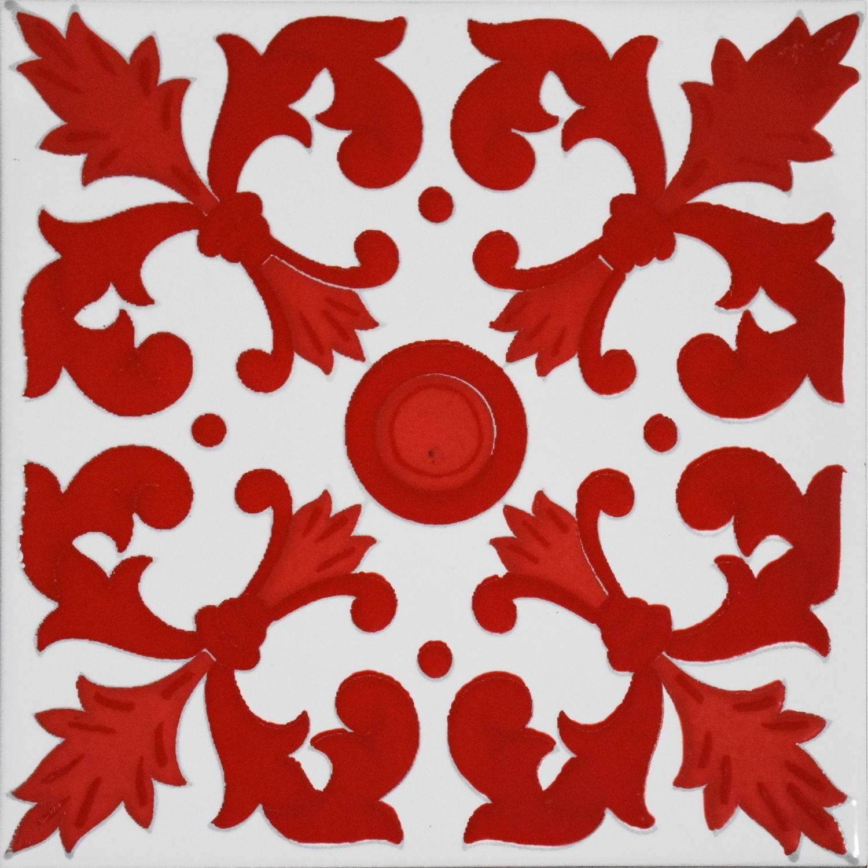 Kasba Rosso 20x20 cm