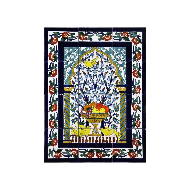 Pannello da Muro 12 Mattonelle cod 76