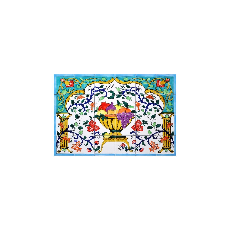 Pannello da Muro COPPA DI FRUTTA 24 Mattonelle