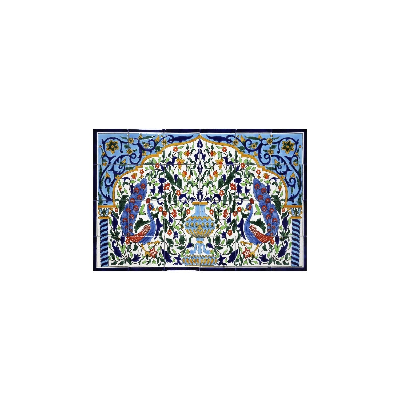 Pannello da Muro PAVONI 24 Mattonelle