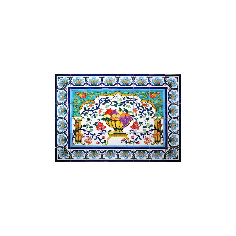 Pannello da Muro COPPA DI FRUTTA 48 Mattonelle