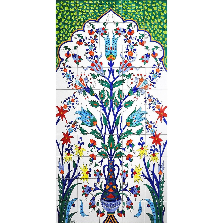 Pannello da Muro ARLECCHINO VERDE 50 Mattonelle
