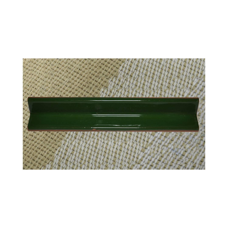 Listello ad Angolo 20x3x3 Cm Interno Verde