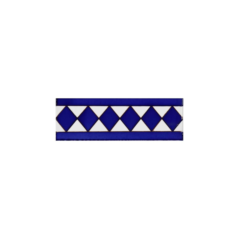 Greca Makroni 15x5 Cm Blu