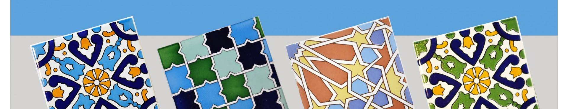 Mattonelle 15x15 e cornici abbinate